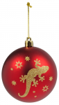Weihnachtskugeln mit Tiermotiv