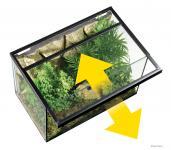Gitterabdeckung für Glasbecken