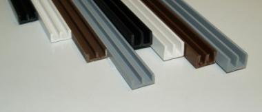 E-Profil für 6mm farbig 1,5m
