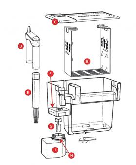 Ersatzteile für AQUA CLEAR FILTER 20 A595