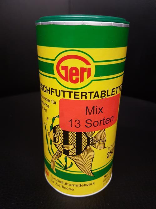 Geri Futtertabletten Mix 13 Sorten