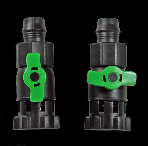 Tetratec EX 400/600/700 Durchflussventile