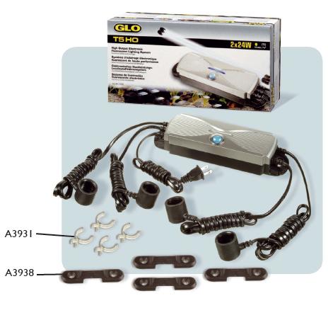 Ersatzteile für GLO T5-VORSCHALTGERÄTE A1556, A1559, A1559