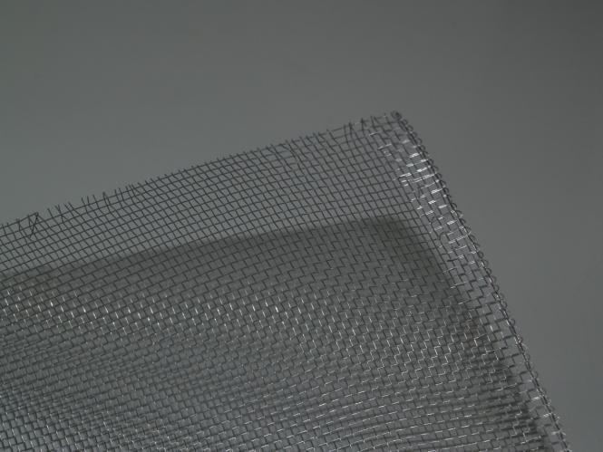 Aluminium-Gaze 100x100cm
